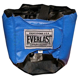 Фото 2 к товару Шлем с маской (кожа) Everlast синий