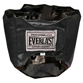 Фото 2 к товару Шлем с маской (кожа) Everlast черный