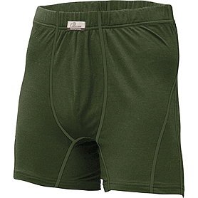 Фото 1 к товару Термошорты мужские Lasting Nico+ темно-зеленые
