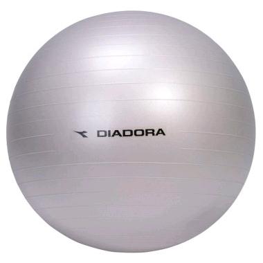 Мяч для фитнеса (фитбол) 65 см Diadora серебристый