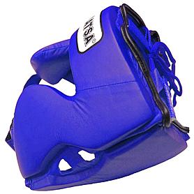 Фото 2 к товару Шлем боксерский закрытый MATSA синий