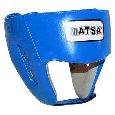 Шлем тренировочный PU Matsa синий