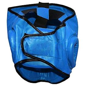 Фото 2 к товару Шлем с пластмассовой маской (PVC) Matsa синий