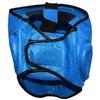 Шлем с пластмассовой маской (PVC) Matsa синий - фото 2