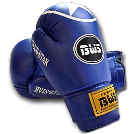 Перчатки боксерские World Sport Club Star синие - 10 Oz