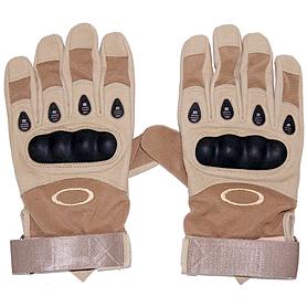 Перчатки тактические полнопалые Oakley 94025 хаки