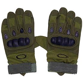 Перчатки тактические полнопалые Oakley 94025 зеленые - XL