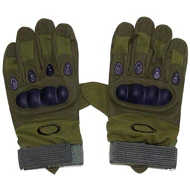 Перчатки тактические полнопалые Oakley 94025 зеленые