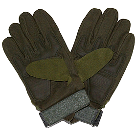 Фото 2 к товару Перчатки тактические полнопалые Oakley 94025 зеленые