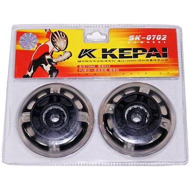 Колеса для роликов Kepai 70х24 мм