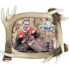 Фото 1 к товару Фоторамка Rivers Edge Deer Antler Frame
