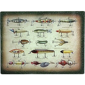 Доска кухонная Riversedge Antique Lure Cutting Board