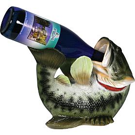 Фото 1 к товару Подставка для бутылки Rivers Edge Bass Wine Bottle Holder