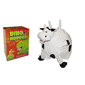 """Мяч для фитнеса (фитбол) с рожками 45 см """"Корова"""""""