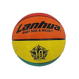 Мяч баскетбольный резиновый №2 Lanhua