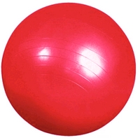 Фото 1 к товару Мяч для фитнеса (фитбол) Pro Supra красный 55 см