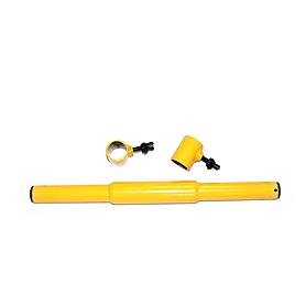 Гриф гантельный желтый 60 см, 25 мм