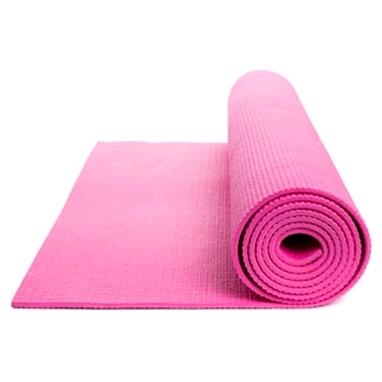Коврик для йоги (йога-мат) Diadora 3 мм розовый