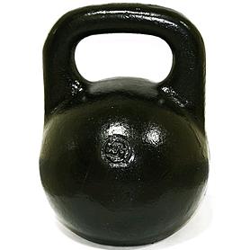 Фото 1 к товару Гиря чугунная 26 кг (черная)