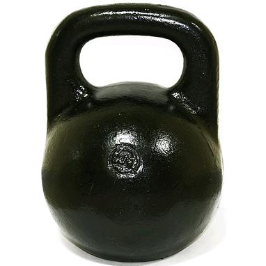 Гиря чугунная 28 кг (черная)