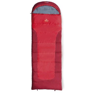 Мешок спальный (спальник) зимний Pinguin Blizzard Junior левый красный