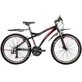 Фото 1 к товару Велосипед горный Premier Bandit 3.0 черный с голубо-красно-белым рама - 17