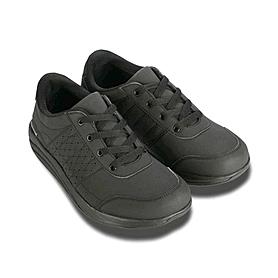 Фото 2 к товару Ботинки со шнурками черные WalkMaxx
