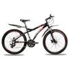 Велосипед Premier Galaxy Disc черный с красно-белым рама - 17