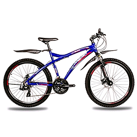 "Велосипед Premier Galaxy Disc синий с красно-черно-белым рама - 19"""