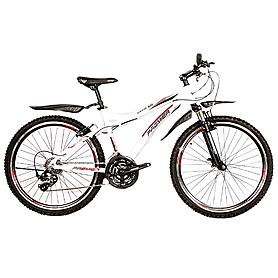 Фото 1 к товару Велосипед горный Premier Bandit 3.0 белый с красно-черным рама - 17