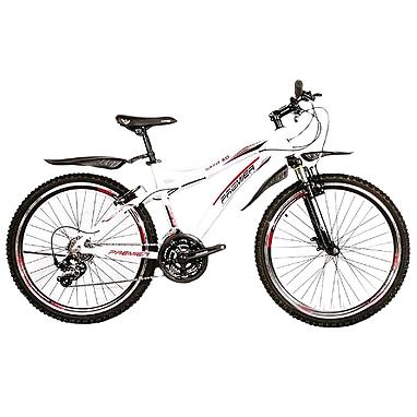 Велосипед горный Premier Bandit 3.0 белый с красно-черным рама - 17