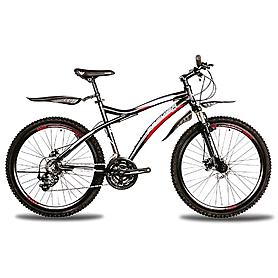 Фото 1 к товару Велосипед горный Premier Tsunami Disc 2.0 черный с красно-голубым рама - 19