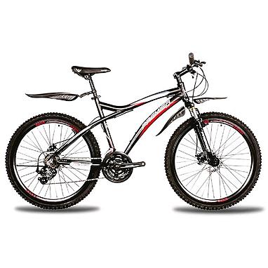 Велосипед горный Premier Tsunami Disc 2.0 черный с красно-голубым рама - 19