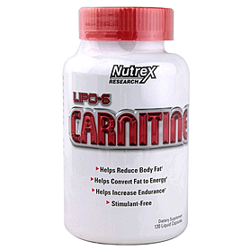Фото 1 к товару Жиросжигатель Nutrex NR Lipo 6 Carnitine (120 капсул)
