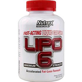 Жиросжигатель Nutrex NR Lipo-6 240 liqui-caps