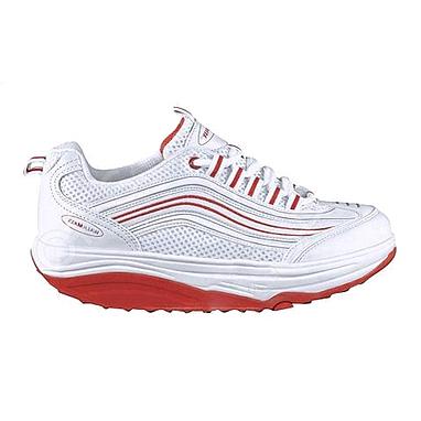 Кроссовки бело-красные WalkMaxx