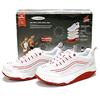 Кроссовки бело-красные WalkMaxx - фото 2