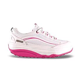 Кроссовки бело-розовые WalkMaxx 2.0