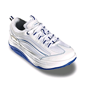Кроссовки бело-синие WalkMaxx 2.0