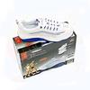 Кроссовки бело-синие WalkMaxx - фото 1