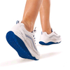 Кроссовки бело-синие WalkMaxx - фото 2