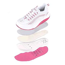 Фото 2 к товару Кроссовки розово-белые WalkMaxx