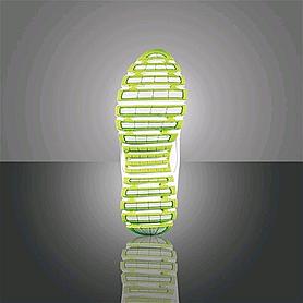 Фото 2 к товару Кроссовки ультралегкие бело-зеленые WalkMaxx