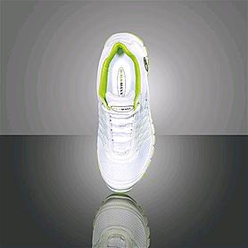 Фото 3 к товару Кроссовки ультралегкие бело-зеленые WalkMaxx
