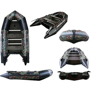 Лодка надувная моторная Aquastar К-350 camo