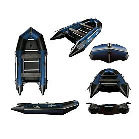 Лодка надувная моторная Aquastar К-370 blue