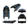 Лодка надувная моторная Aquastar К-370 blue - фото 1