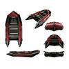 Лодка надувная моторная Aquastar К-370 red - фото 1