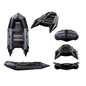 Лодка надувная моторная Aquastar К-400 camo