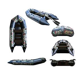 Фото 1 к товару Лодка надувная моторная Aquastar С-330 camo